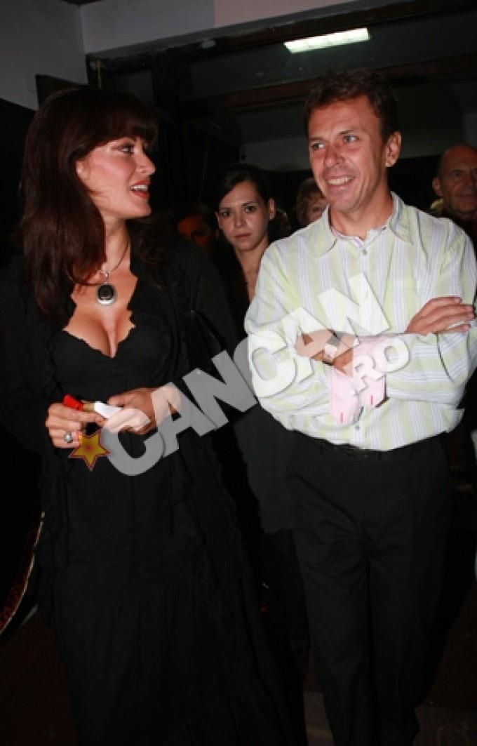 Anca Turcasiu a fost casatorita 16 ani cu medicul Cristian Georgescu