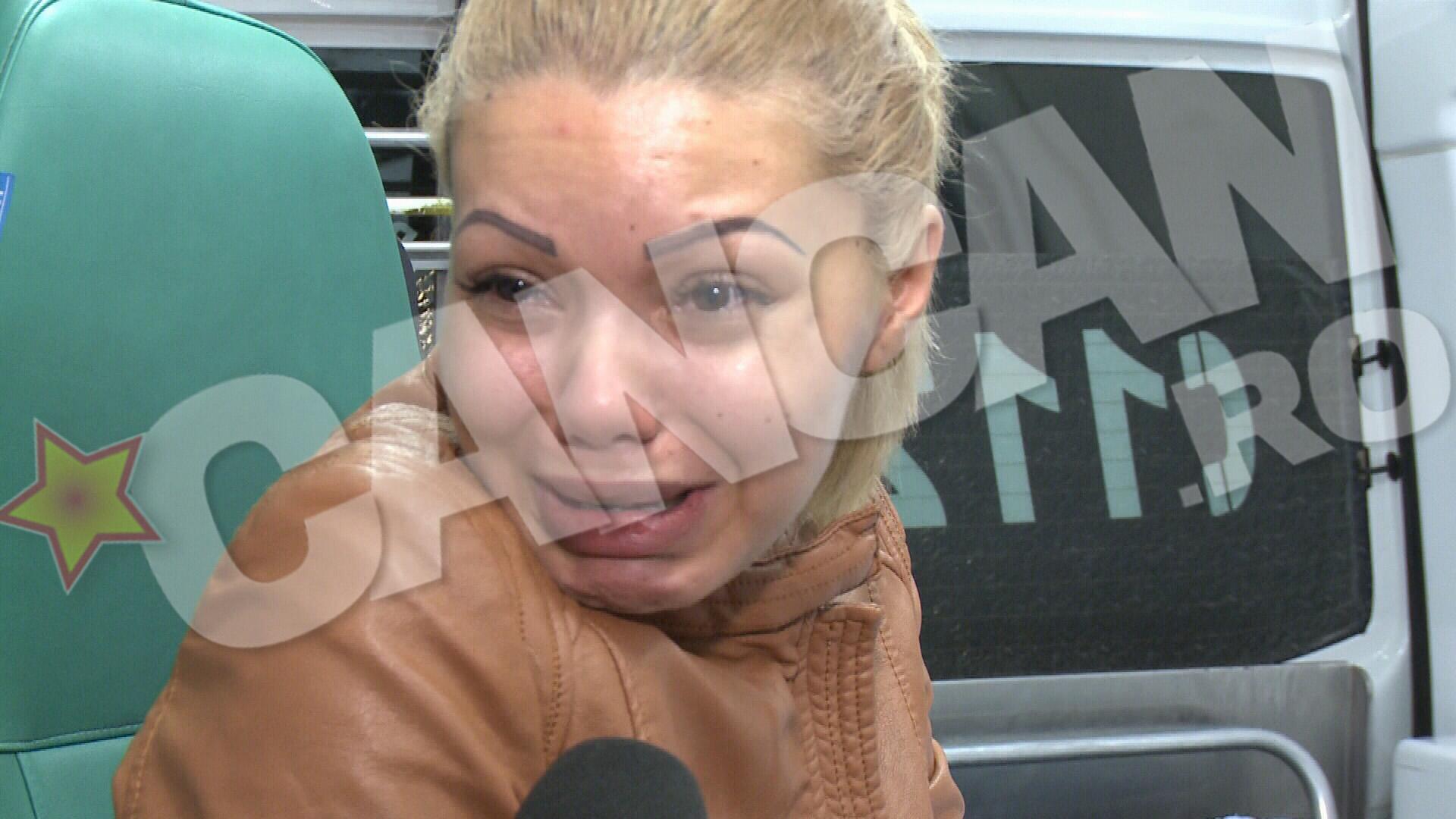 Madalina era in stare de soc in momentul in care au sosit politistii