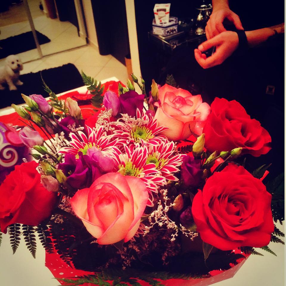 Speak a impresionat pe toata lumea cu buchetul de flori pe care i l-a daruit Adelinei