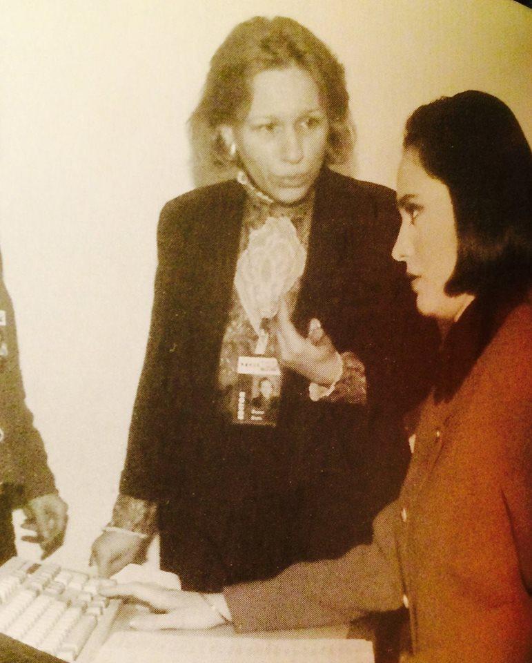 O imagine de la inceputurile Andreei Esca in presa
