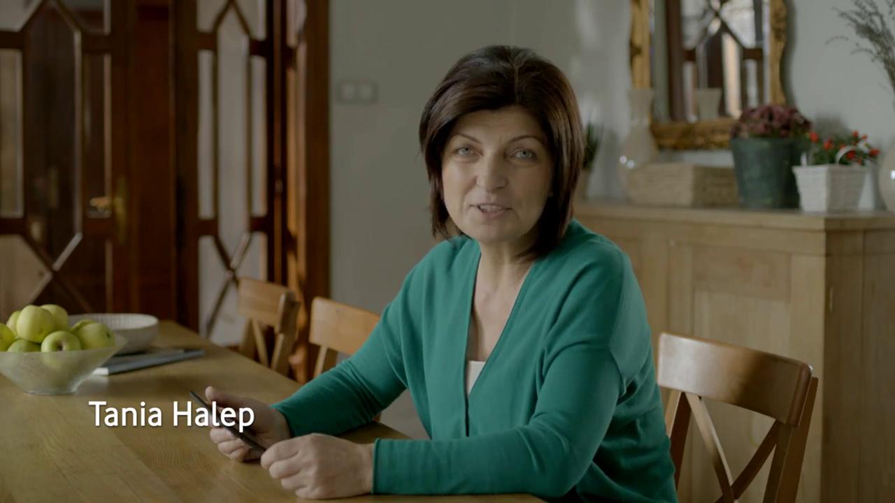 Mama Simonei apare intr-un spot publicitar