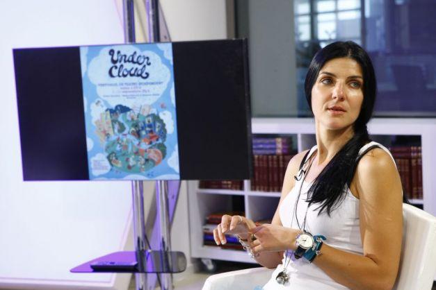 Ea este Cristina Simion, sotia lui Gavriel Fatu