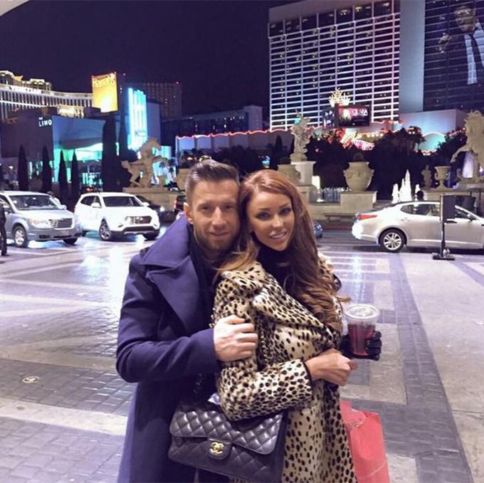 Bianca, in Las Vegas alaturi de nasul ei din prima casatorie cu Victor