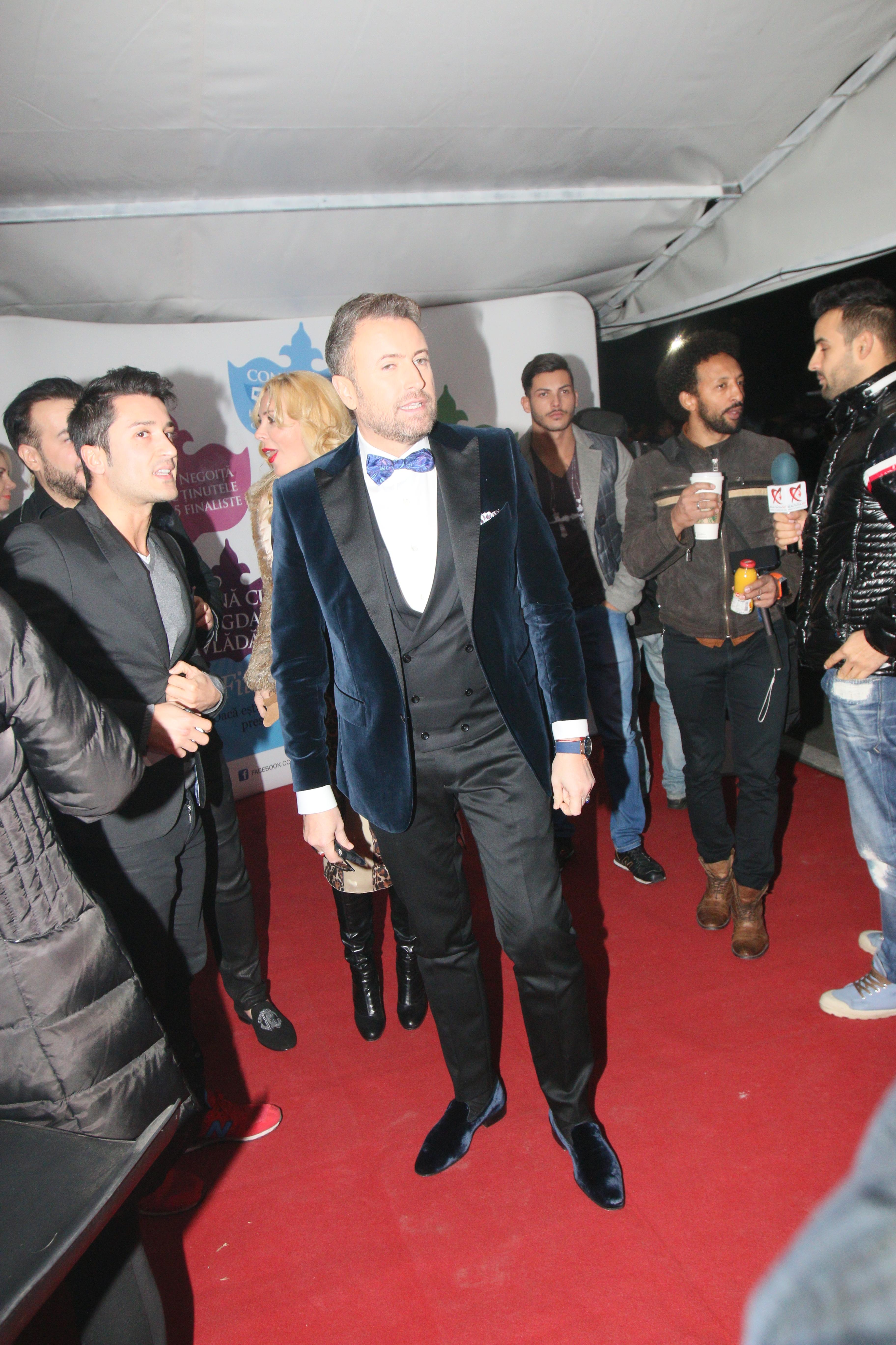 Catalin Botezatu a fost prezent miercuri seara la un eveniment monden
