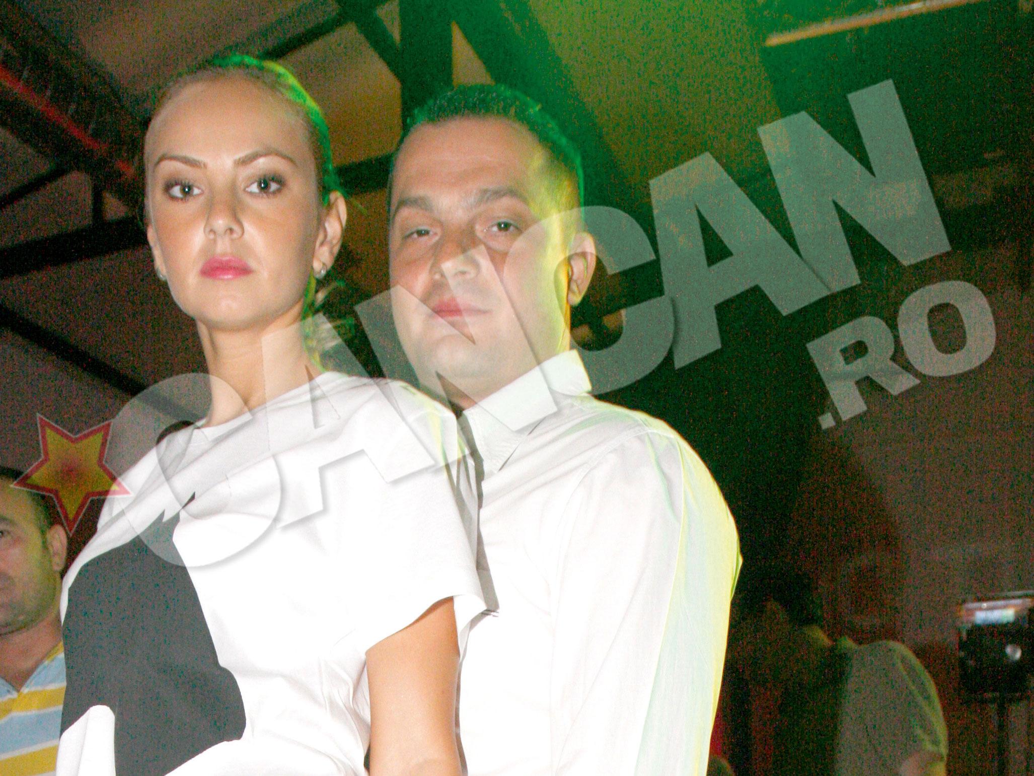 Roxana Ionescu, pe vremea cand inca se iubea cu Laurentiu