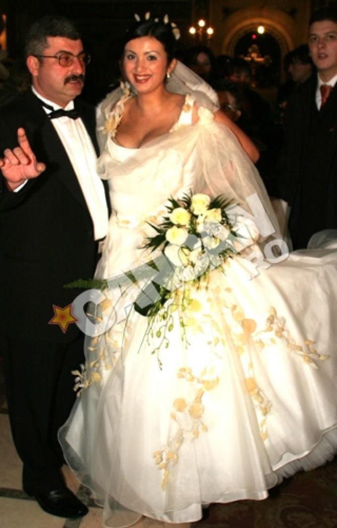 Adriana Bahmuteanu si Silviu Prigoana s-au căsătorit pentru prima data in urma cu mai bine de 10 ani