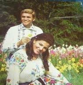 Irina Loghin si Benone Sinulescu au fost primii artisti care au cantat in duet
