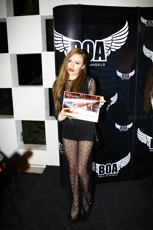 Rellys a aparut pe coperta revistei Playboy