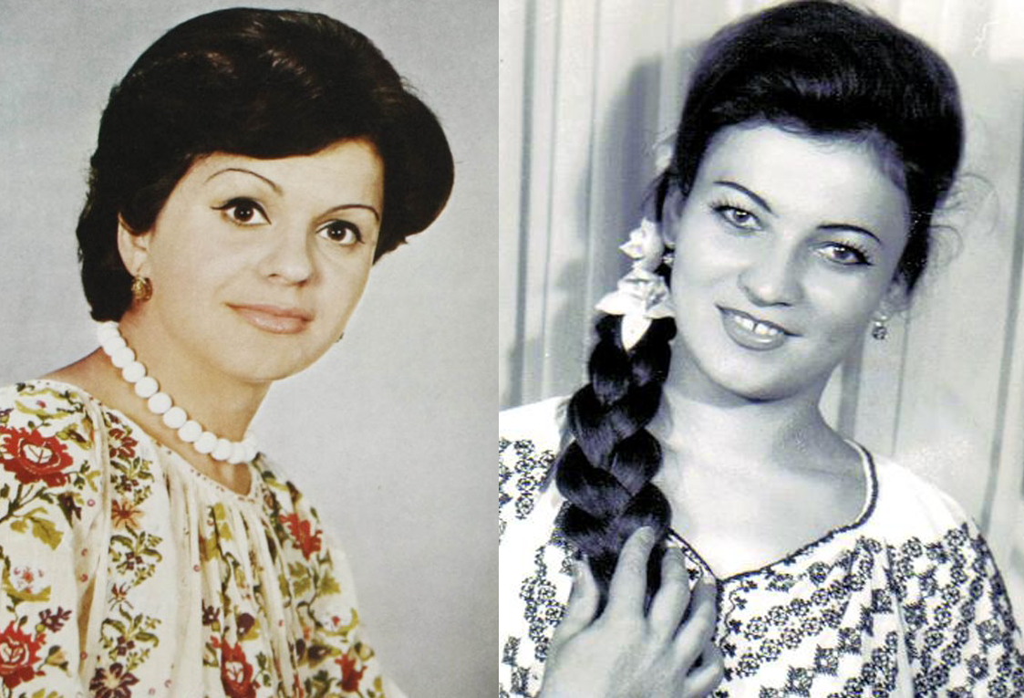 Asa arau Maria Ciobanu si Ionelaa Prodan in tinerete