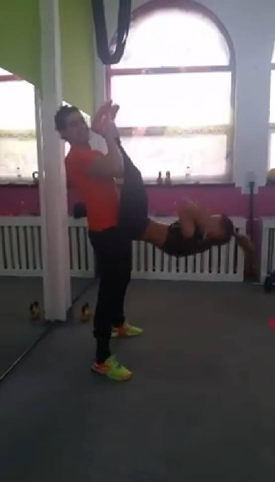 Cei doi fac antrenamente ceva mai intime decat restul cursantilor
