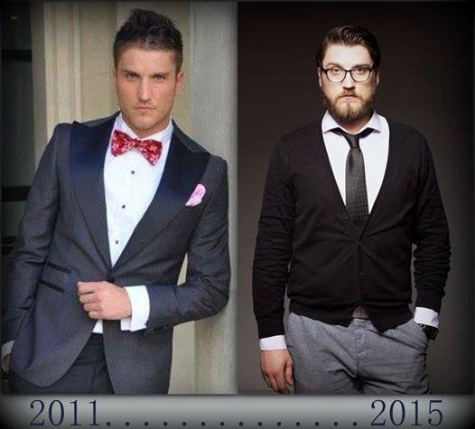 Andrei nu mai are deloc aceeasi imagine ca acum patru ani