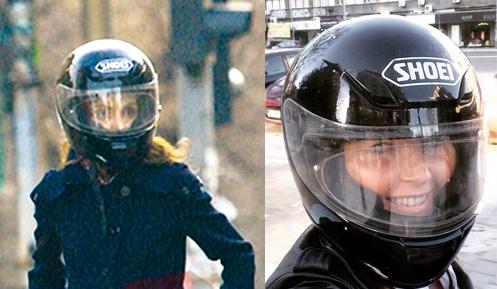 Fosta iubita a lui Marian Ionescu si actuala sotie au impartit aceeasi casca de motocilisti