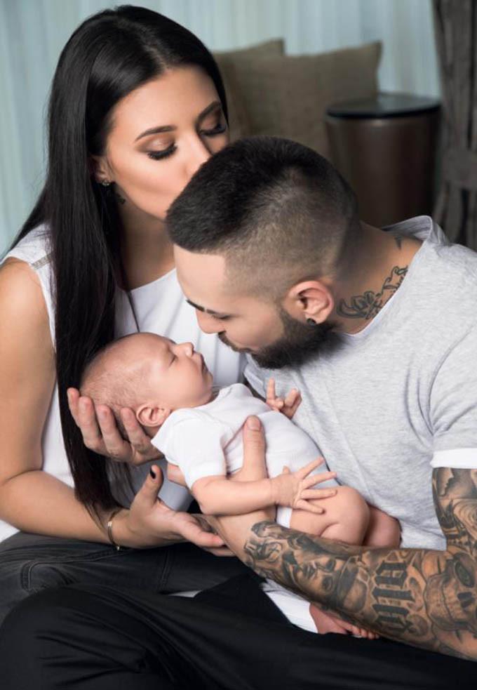 Alex Velea si Antonia au impreuna un copil in varsta de 5 luni