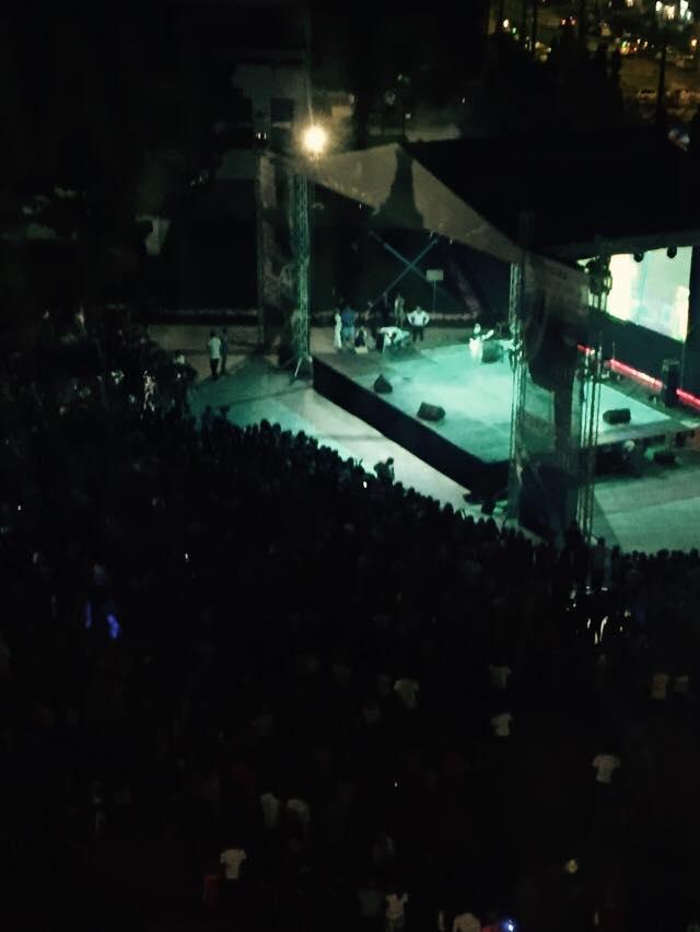Lidia Buble la concert in Vaslui.