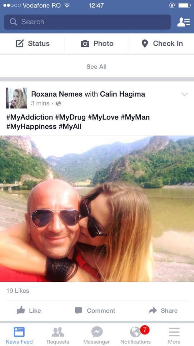 Roxana Nemes si-a postat o fotografie cu