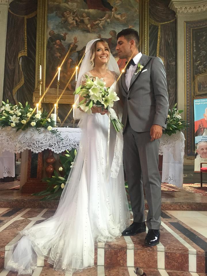 Laura Cosoi si Cosmin Curticapean la nunta