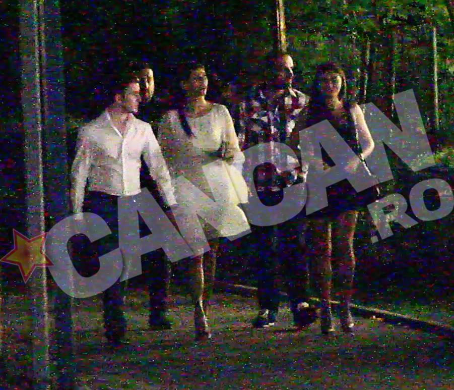 Iata dovada ca Roxana si Stefan(foto:imbracati in alb) sunt impreuna
