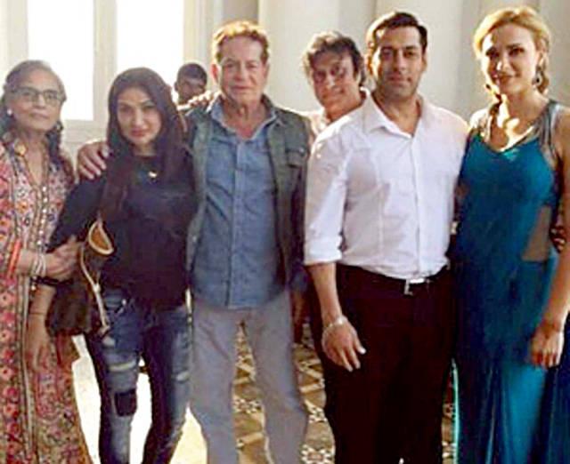 Marius Moga a dus-o in India, iar acolo, vedeta s-a indragostit si de Salman Khan