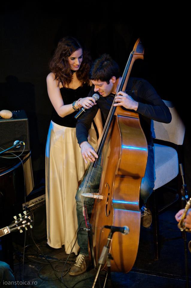 Irina si Ciprian au cantat de mai multe ori pe aceeasi scena foto: Facebook