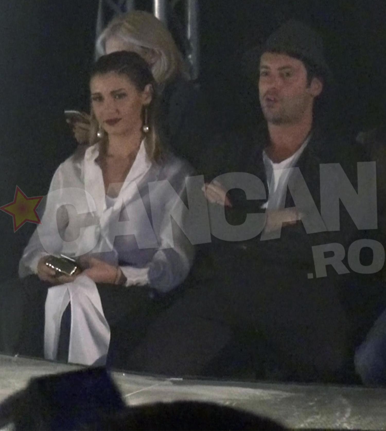 Alina Eremia si Radu Valcan au fost nedespartiti toata seara