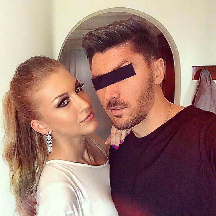 Fotbalistul si Ioana sunt impreuna de sase luni