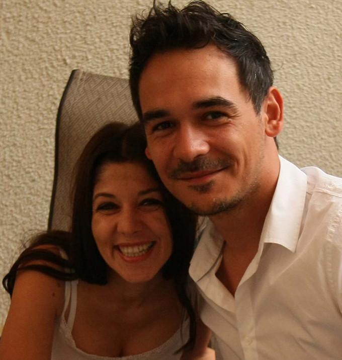 Razvan Simion si fosta lui sotie