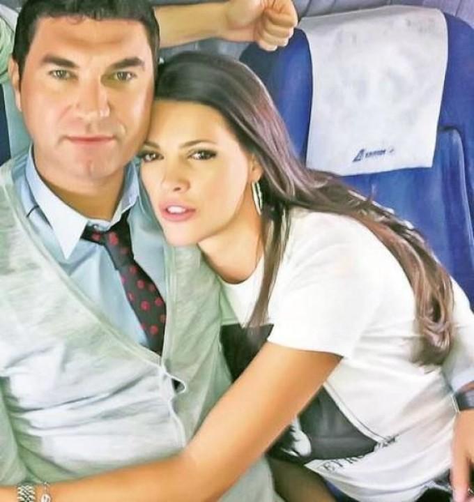 Cristi Borcea si Alina Vidican, actuala sotie cu care are doi copii