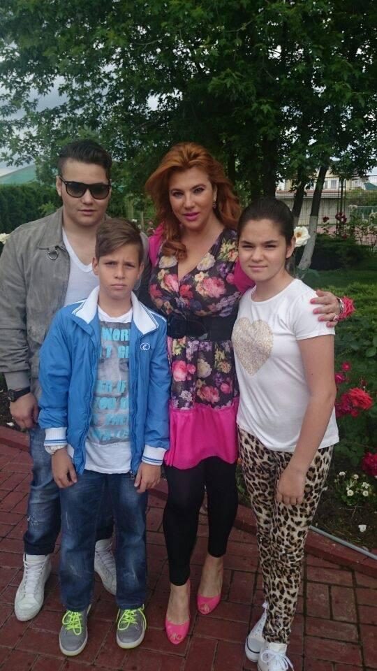 Cristi Borcea are trei copii cu Mihaela