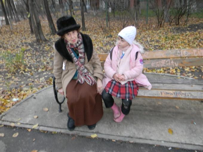 Adriana Iliescu isi creste singura fiica, pe Eliza