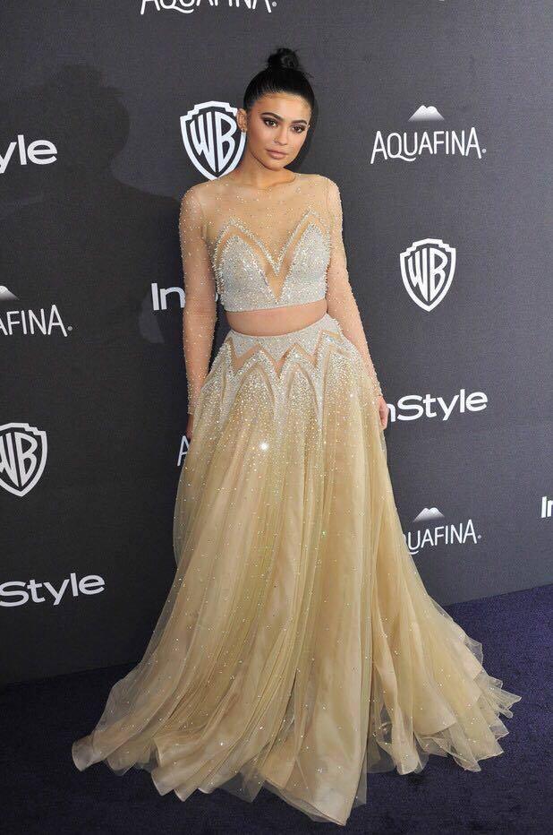 Kylie Jenner se numara printre clientii designerului Nadim Olivera