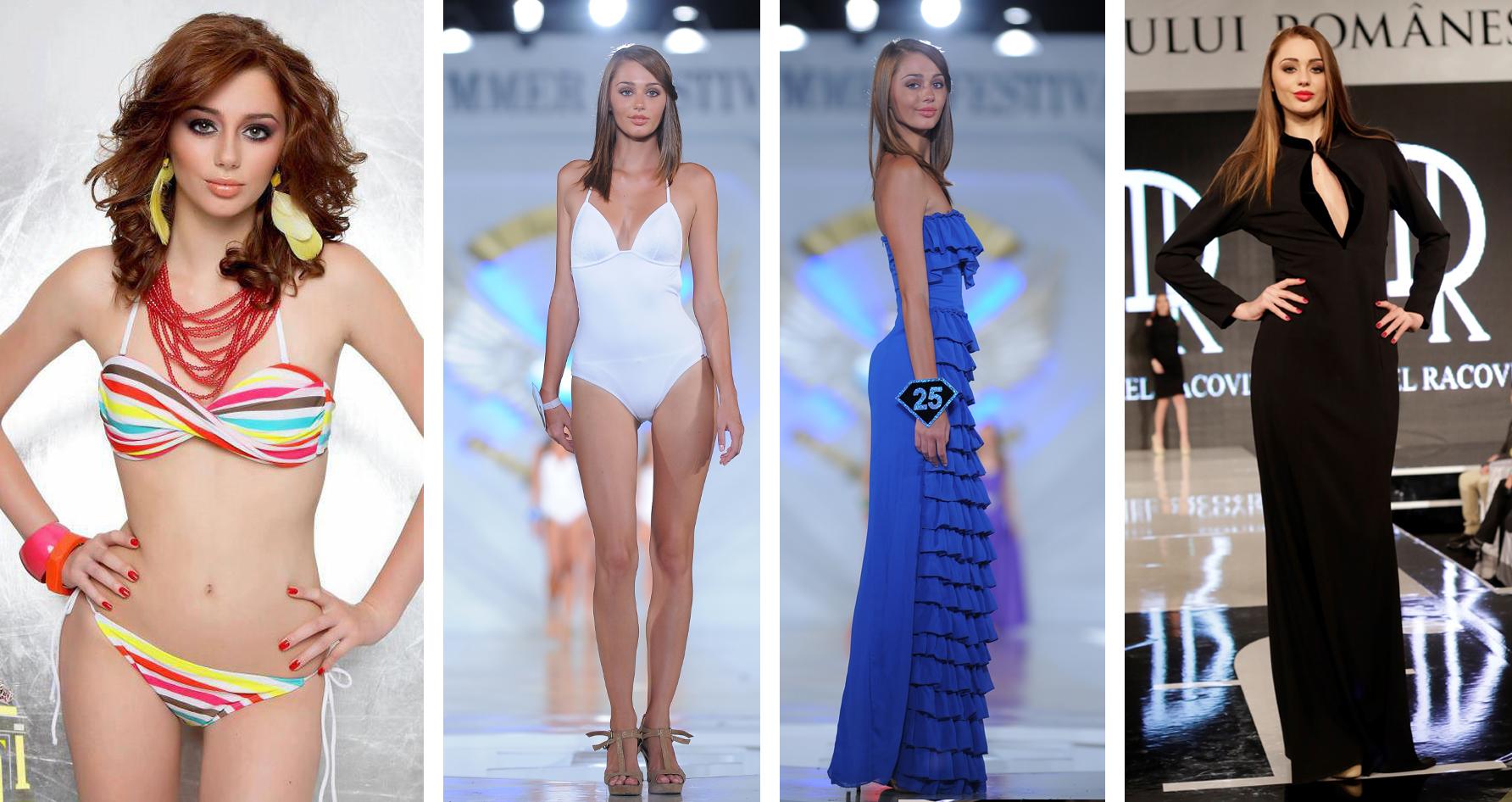 La doar 23 de ani, noua iubită a lui Robert Negoiţă este o veterană a podiumurilor de modă, cu prezenţe la Gala Turismului Viena, Gala Turismului Bucureşti, Fashio Summer Festival şi Miss Litoral