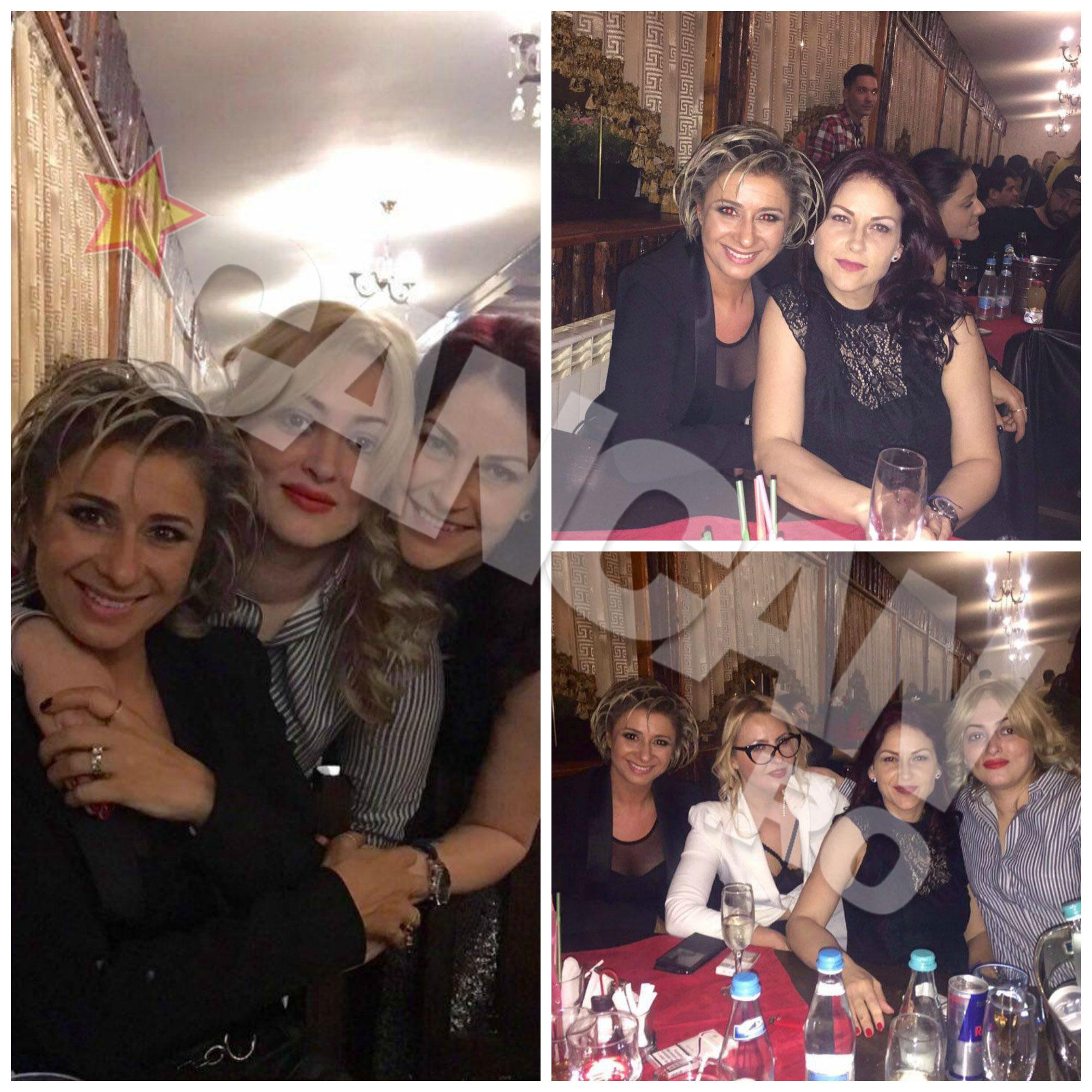 Prietenă bună de familie cu Alexa, Anamaria Prodan nu a putut lipsi de la aniversarea celor 35 de ani ai Izabelei