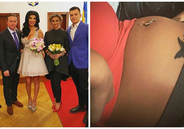 Andreea Tonciu s-a căsătorit cu Daniel Niculescu la începutul lunii februarie a acestui an, naşii au fost Anamaria Prodan şi soţul său.
