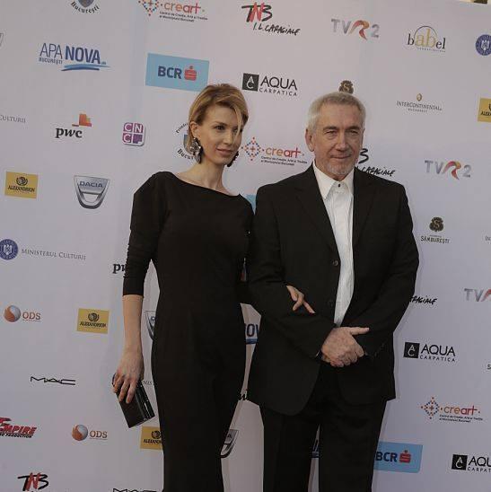 Alina Chivulescu a făcut senzaţie la Premiile GOPO de luni seară, la braţul lui Dan Chişu