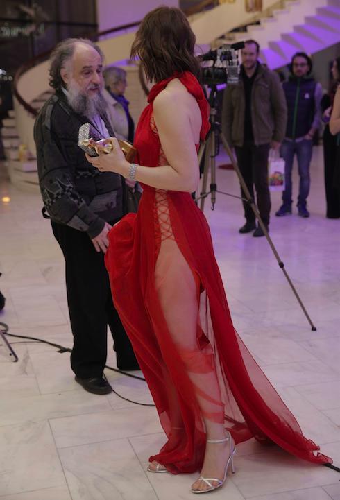 Ioana a fost cu adevărat o apariţie la Premiile Gopo