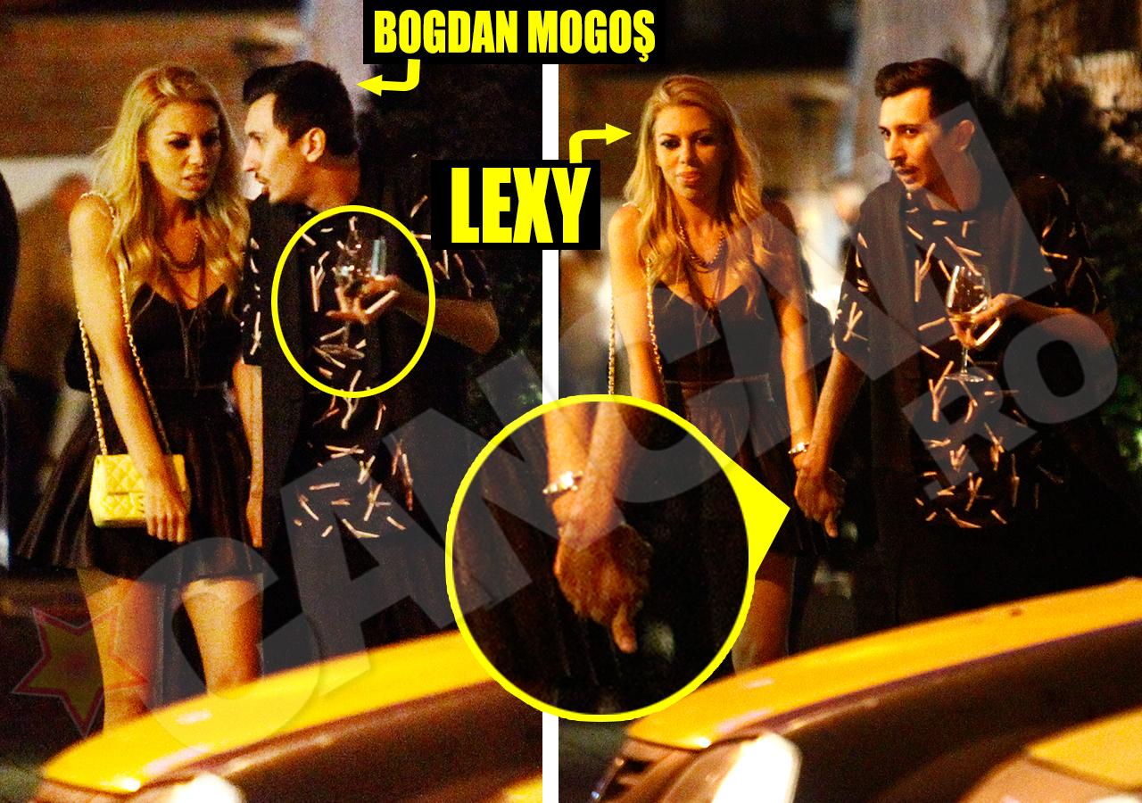 """Nu o să mai spunem că Bogdan Mogoş este homosexual, pentru că s-a supărat pe noi ultima oară. O să spunem că, judecând după faptul că Lexy Milionăreasa îl ţine de mână pe """"Periculosul"""", s-ar putea ca ea să fie lesbiană."""