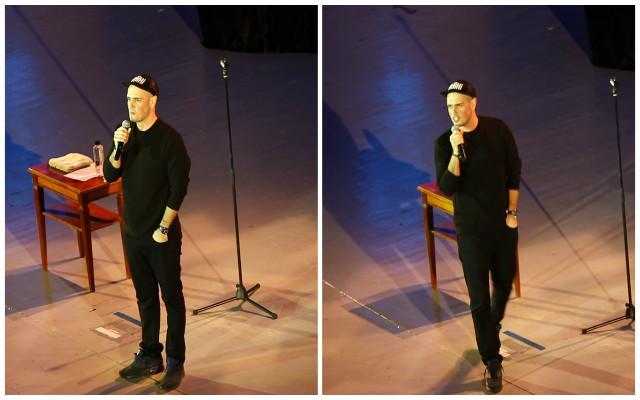 Matei Dima a venit pentru prima oară la Sala Palatului să ţină un spectacol.