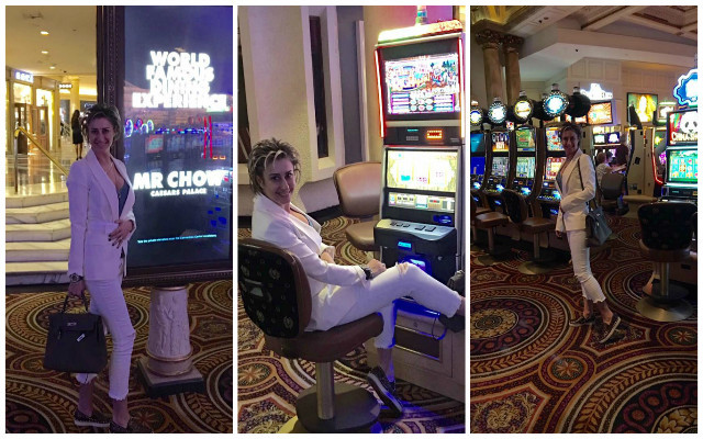 Anamariei Prodan îi este dor de Las Vegas.