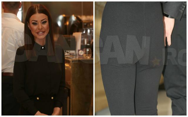 Ana Maria Mocanu s-a prezentat la un eveniment monden cu pantalonii rupţi!