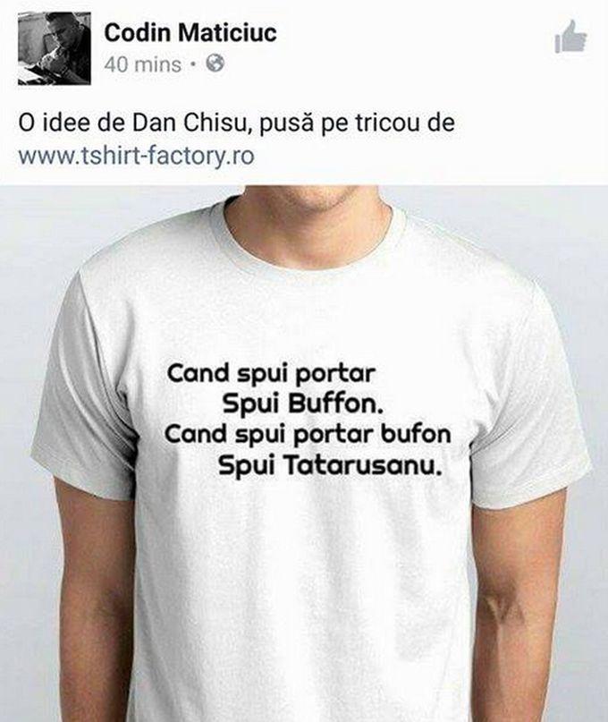 Aceasta este tricoul despre care vă povesteam.