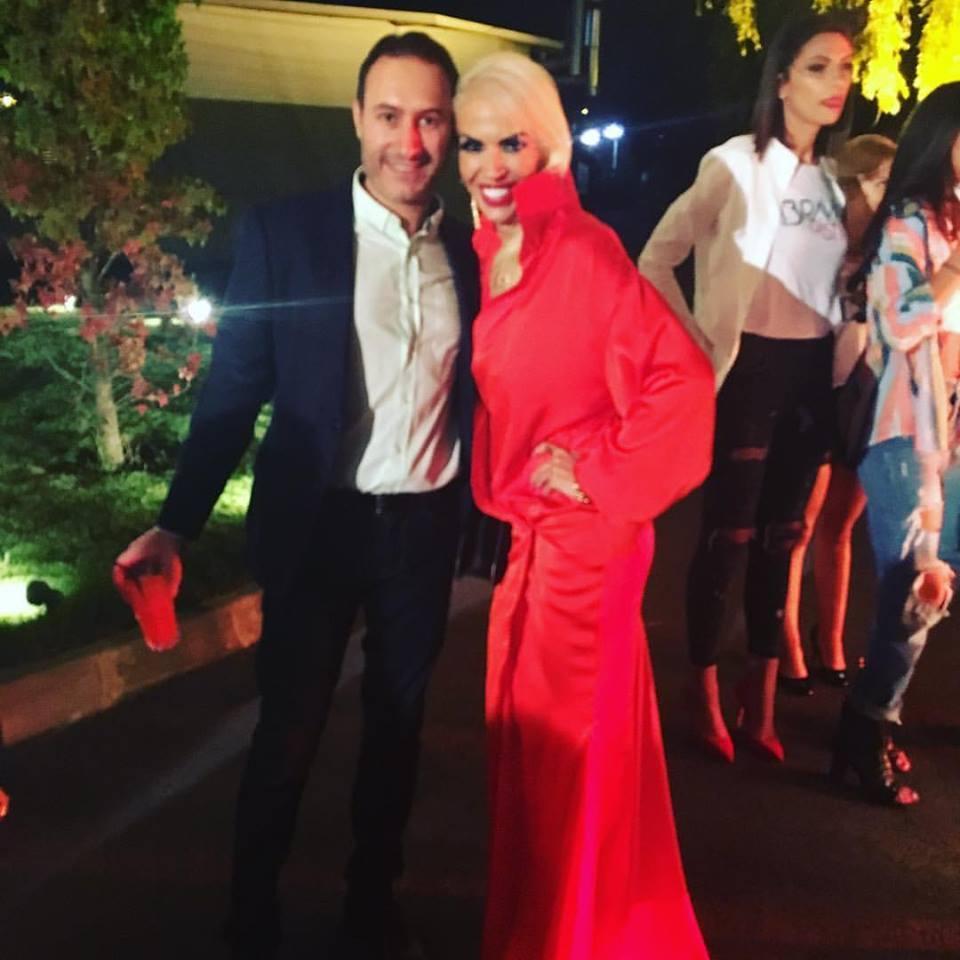 Raluca Bădulescu a făcut senzaţie la petrecerea Kanal D.