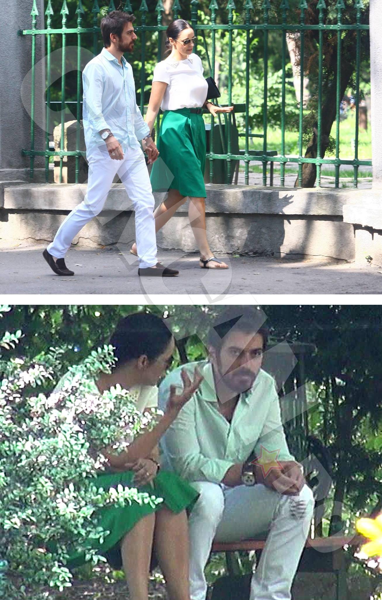Plimbarea din parc a fost urmată de un scandal monstru între Andreea şi Tuncay