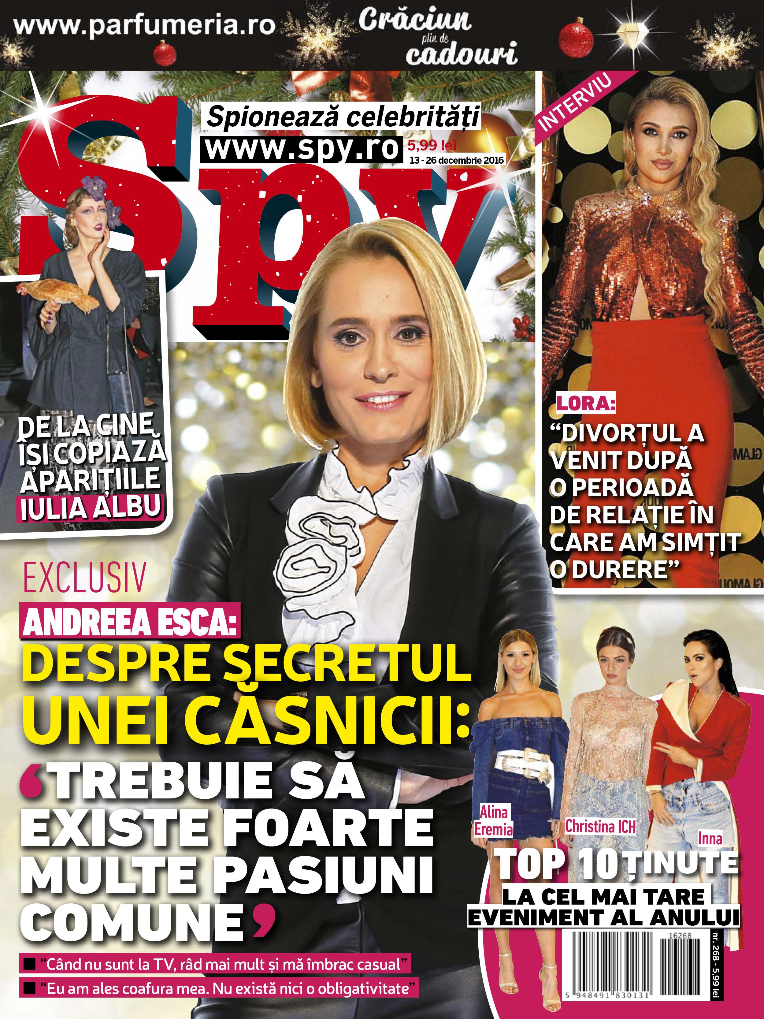 Copertă revista Spy