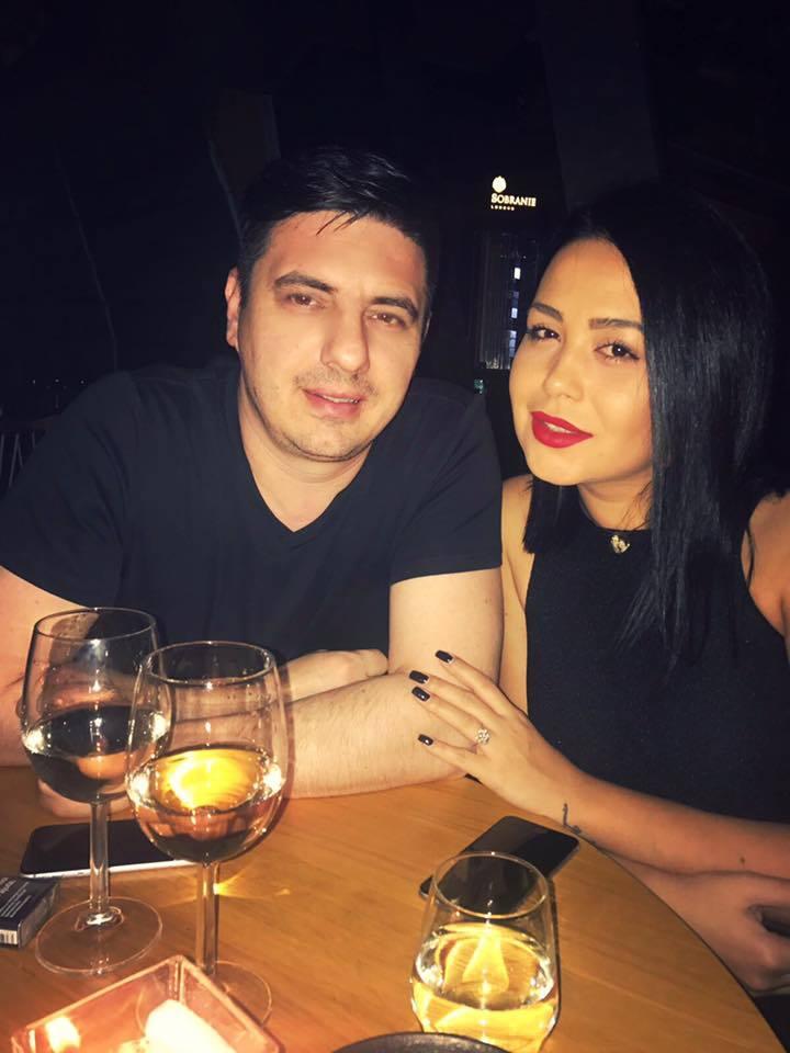 Mihaela Moise, împreună cu iubitul ei