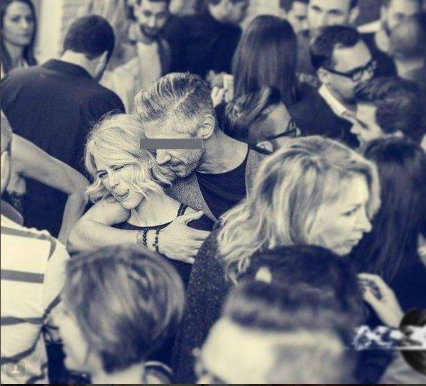 Raluca Ţopescu, ţinută în braţe de bărbatul care ar putea fi noul ei iubit