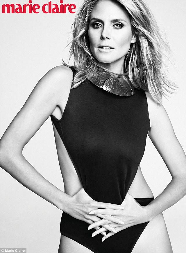 Sexy Heidi Klum, fosta nevastă a lui Seal, e pusă pe fapte mari în pat: