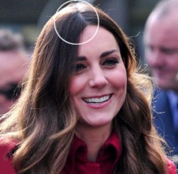 Kate Middleton, par alb