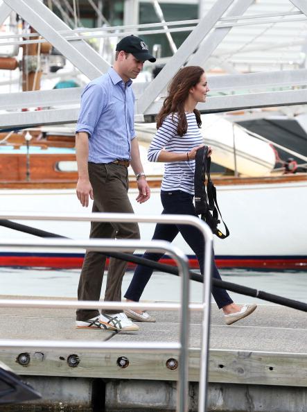 Kate Middleton si Printul William au participat la o cursa de iahting (Foto: Getty Images)