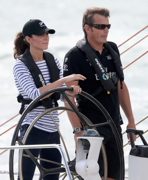Calitatile de navigator ale Ducesei Kate au fost recunoscute de catre organizatorii concursului (Foto: Getty Images)