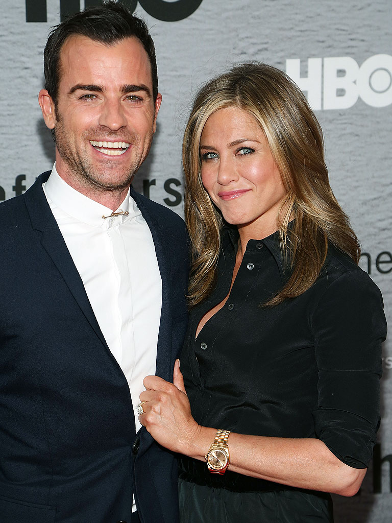 Jennifer Aniston şi Justin Theroux